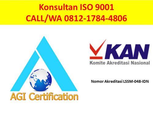 Jasa Konsultan ISO 9001 di Surabaya