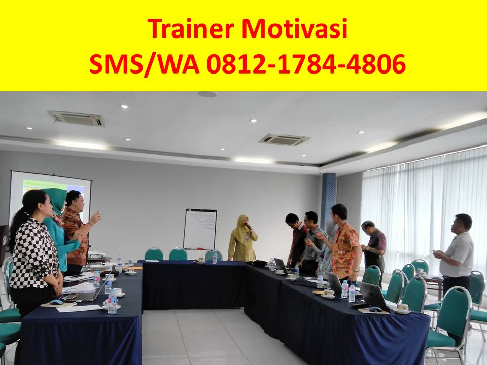Trainer Motivasi untuk Karyawan