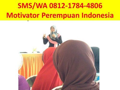 Pembicara Seminar Motivasi Wanita