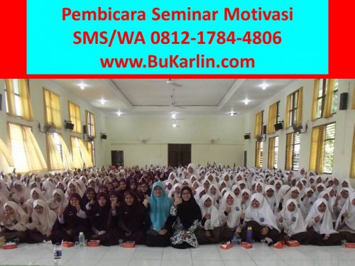 Pembicara Seminar Motivasi