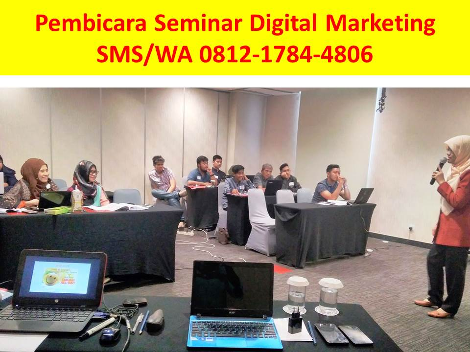Pembicara Digital Marketing Surabaya